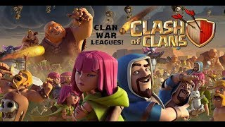 CLAN WAR LEAGUES,NEW OCTOBER UPDATE 2018|(Clash Of Clans)