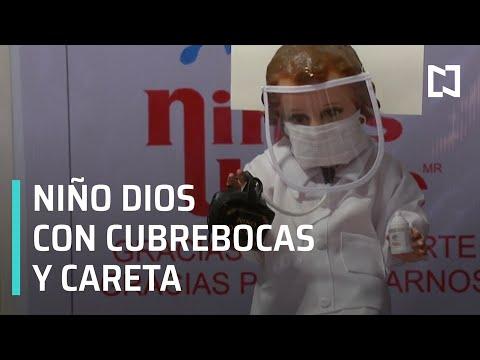 Niño Dios Covid, homenaje para los doctores - Al Aire