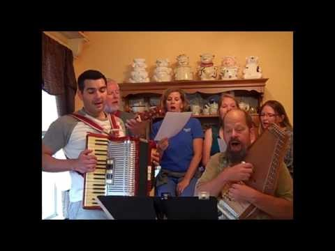 """""""Dwelling In Beulah Land"""" Play and Sing-Along Hymn # 92 Accordion, Autoharp, Guitar"""