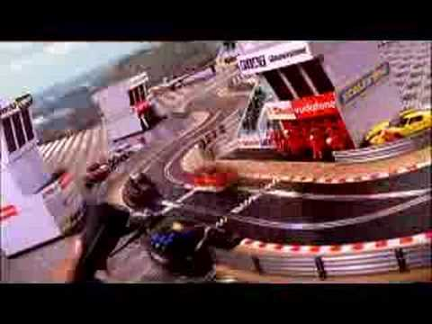 Scalextric TV advert (Christmas '07)