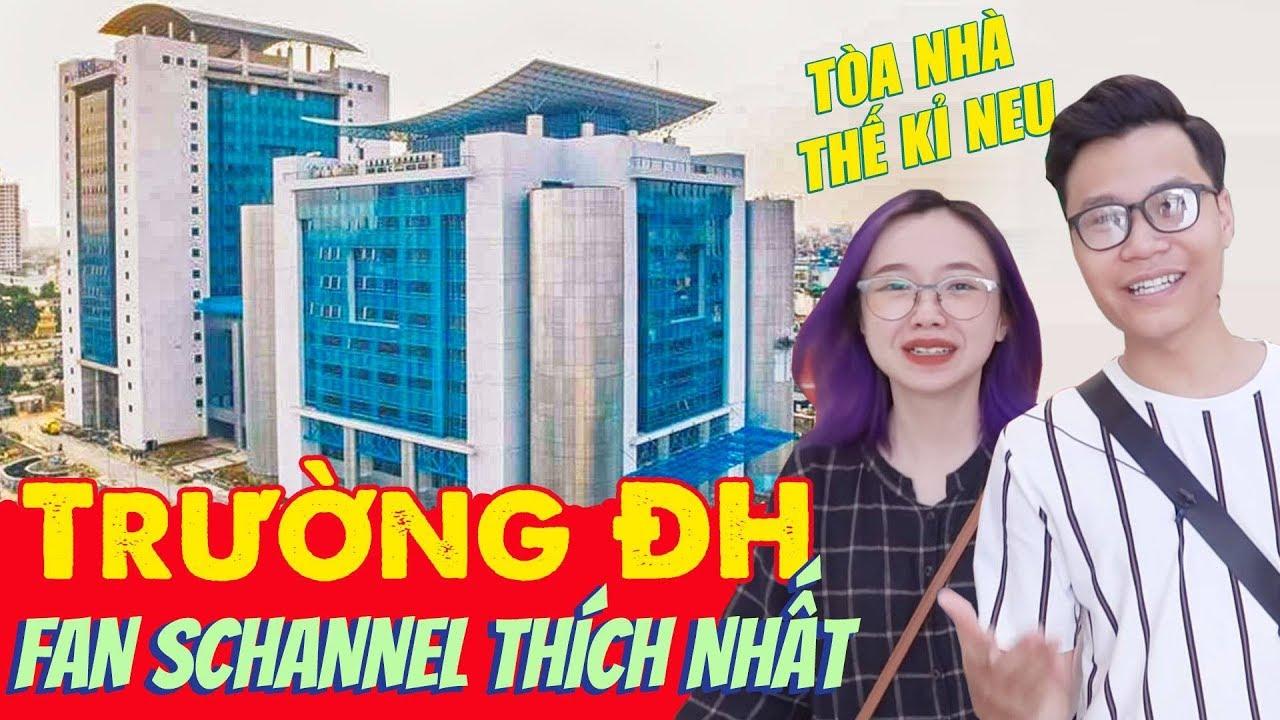 Vlog Mi Sơn : Trường ĐH được fan Schannel thích nhất ? | Review ĐH Kinh Tế Quốc Dân !