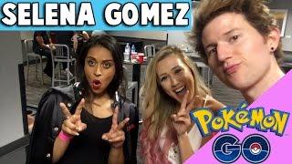 SELENA GOMEZ CONCERT & POKEMON GO IN REAL LIFE