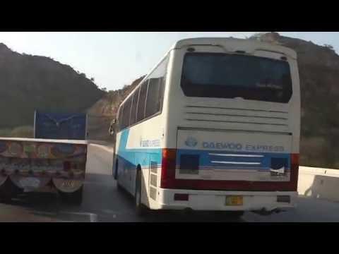 Beauty of Salt Range - Kallar Kahar - M2 Motorway - Pakistan 1 Nov 2010 HD