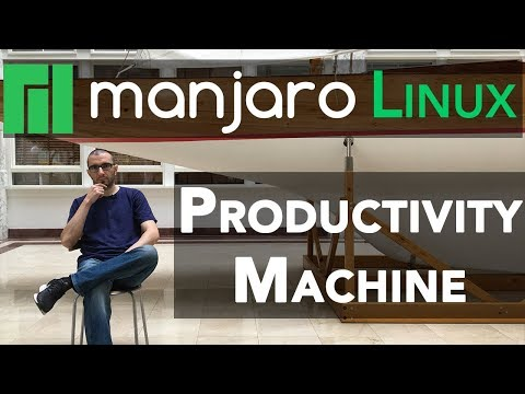 Cleanest Linux Productivity And Development Environment Using Manjaro Linux