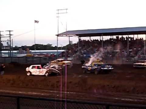 Scott City Kansas Demolition Derby Weekend Warrior 2011