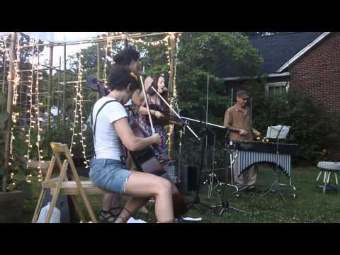 Alexa Woodward performs at Sans Souci Community Garden.