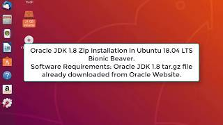 Oracle JDK 1.8 (Java 8) Zip Installation in Ubuntu 18.04 LTS Bionic Beaver | Java 8 in Ubuntu 18.04