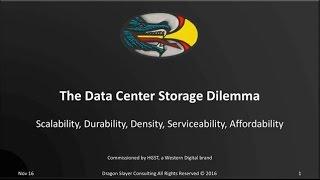The Data Center Storage Dilemma