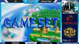 Frame One - Mr. Marbles vs COG | Wizzrobe - 64 WF