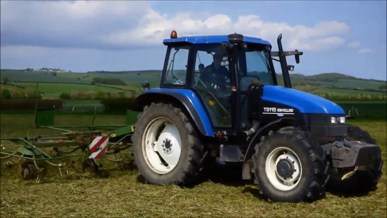 New Holland TS115 Tractor Tethering