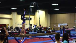 Chloe Beam Routine - Gold Country Classic - Level 9 Gymnastics