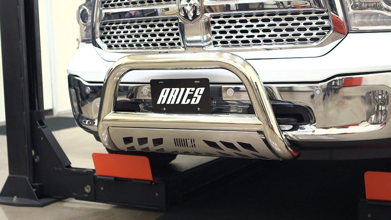 Aries Bull Bar Install 3 Quot Bull Bar 35 5005 On Ram 1500