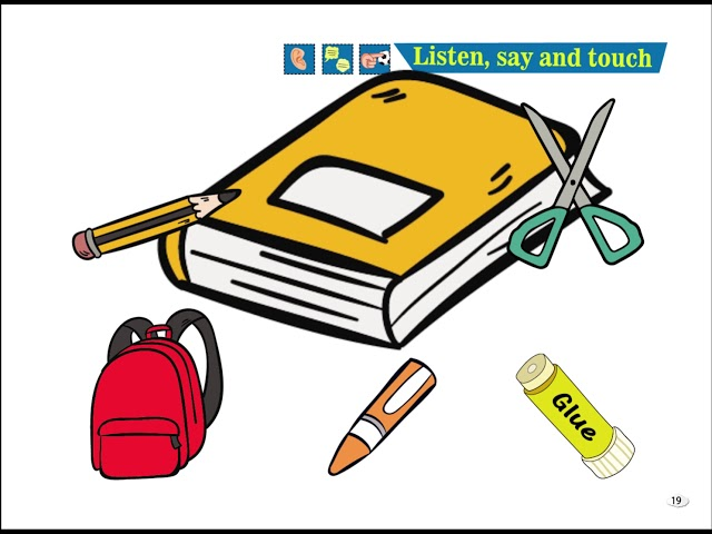 Listen, Say and Touch - Cim and Cimcime - Okul Öncesi İngilizce Eğitim