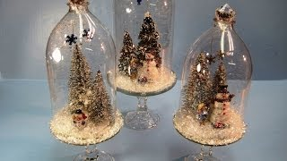 Recycled Soda Bottles Christmas Dome ~ Miriam Joy