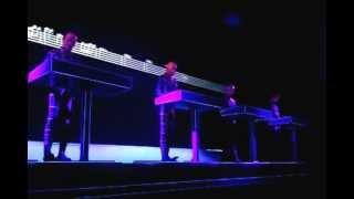 Kraftwerk - Kometenmelodie 1 - Live at MoMA 4-10-12
