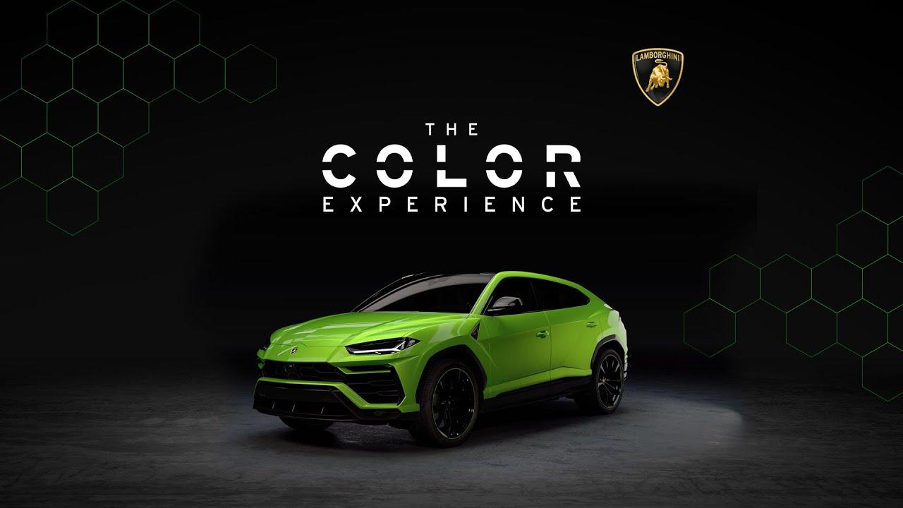 Lamborghini Urus The Color Experience Youtube
