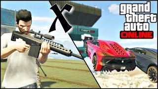 GTA V ONLINE | UES | Basquete vs Snipers Muito Show !!!