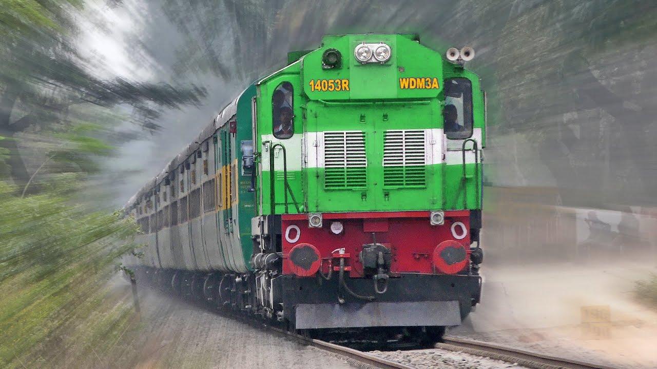 Green ALCo Green Train (Garibrath) : Indian Railways - YouTube
