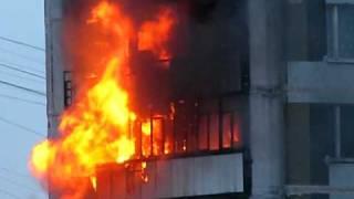 Пожар в Москве 11.03.2011г.