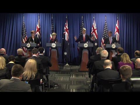 Australia-U.S. Ministerial (AUSMIN) Meetings in Boston