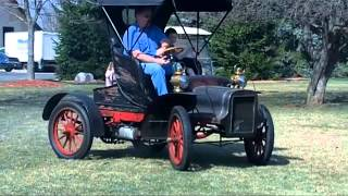 Driving the Original 1906 Cadillac Model K #2 For Sale