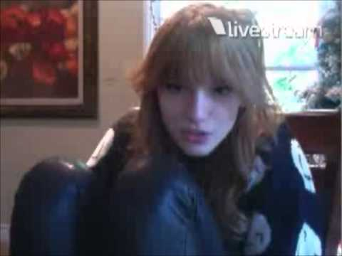 Bella Thorne's Live Chat Part 3 December 21, 2012