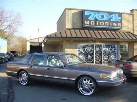 Lincoln Town Car Donks Youtube