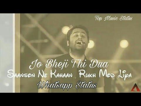 Jo bheji thi duaa   Arijit Singh live concert   WhatsApp Status Video