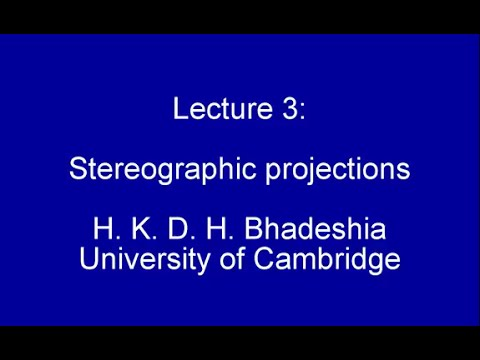 Stereographic projections (2015)