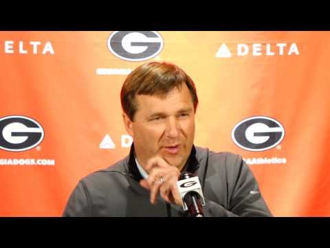 Kirby Smart   2017 Offensive Line