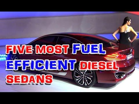 Top Five Most Fuel Efficient Diesel Sedans Youtube