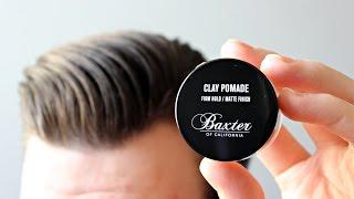 Baxter of California Clay Pomade - recenzja glinki do włosów