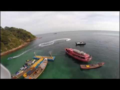 Wisata Pulau Salah Namo Batu Bara Sumut