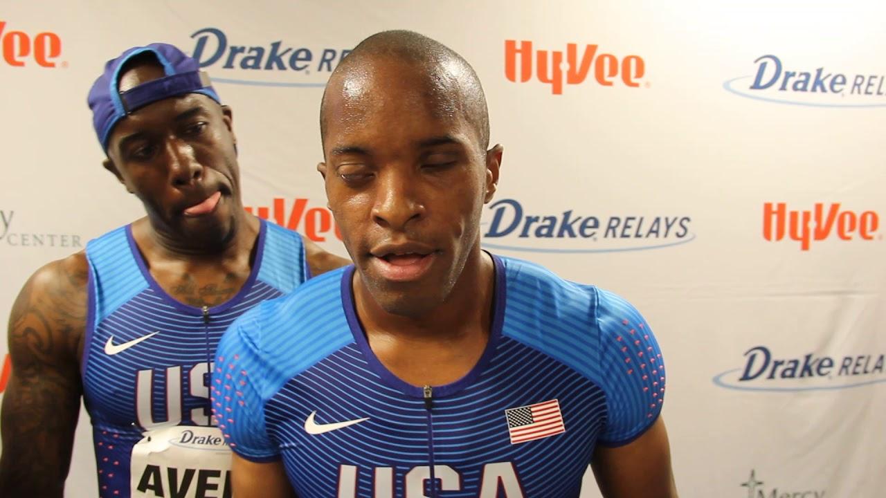 David Brown, USA | Paralympics Men's 100m Dash Winner | 2018 Drake Relays