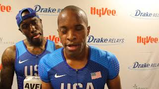 David Brown, USA | Paralympics Men's 100m Dash Winner | 2018 Drake Relays