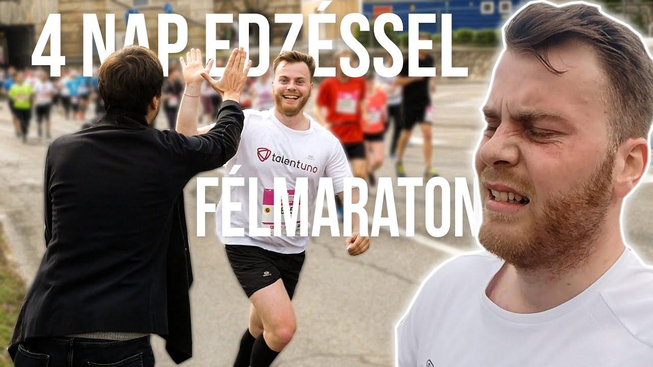 4 NAP EDZÉSSEL FUTOTT 21 KM-T?!