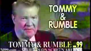 FM99 WNOR-FM  Tommy and Rumble Commerical 1