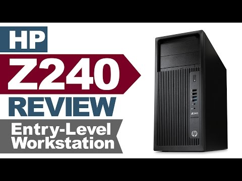 Review of the HP Z240 Workstation by Joe Herman - YouTube