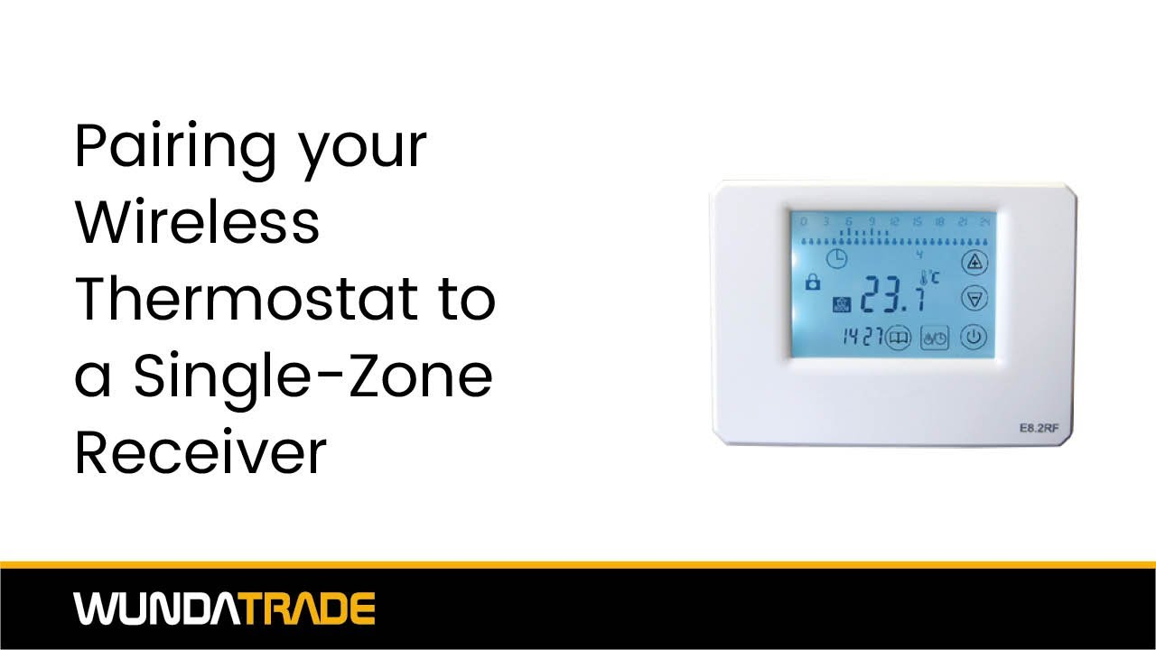 Pairing our wireless thermostat with our single zone receiver pairing our wireless thermostat with our single zone receiver wunda trade asfbconference2016 Choice Image