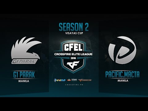 G1PARAK vs Pacific.Macta – Crossfire Elite League Visayas Cup – Round 4 Match 4