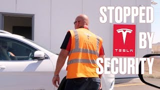 STOPPED BY TESLA GIGAFACTORY SECURITY | WHAT HAPPENS WHEN YOU TRY VISITING THE TESLA GIGAFACTORY