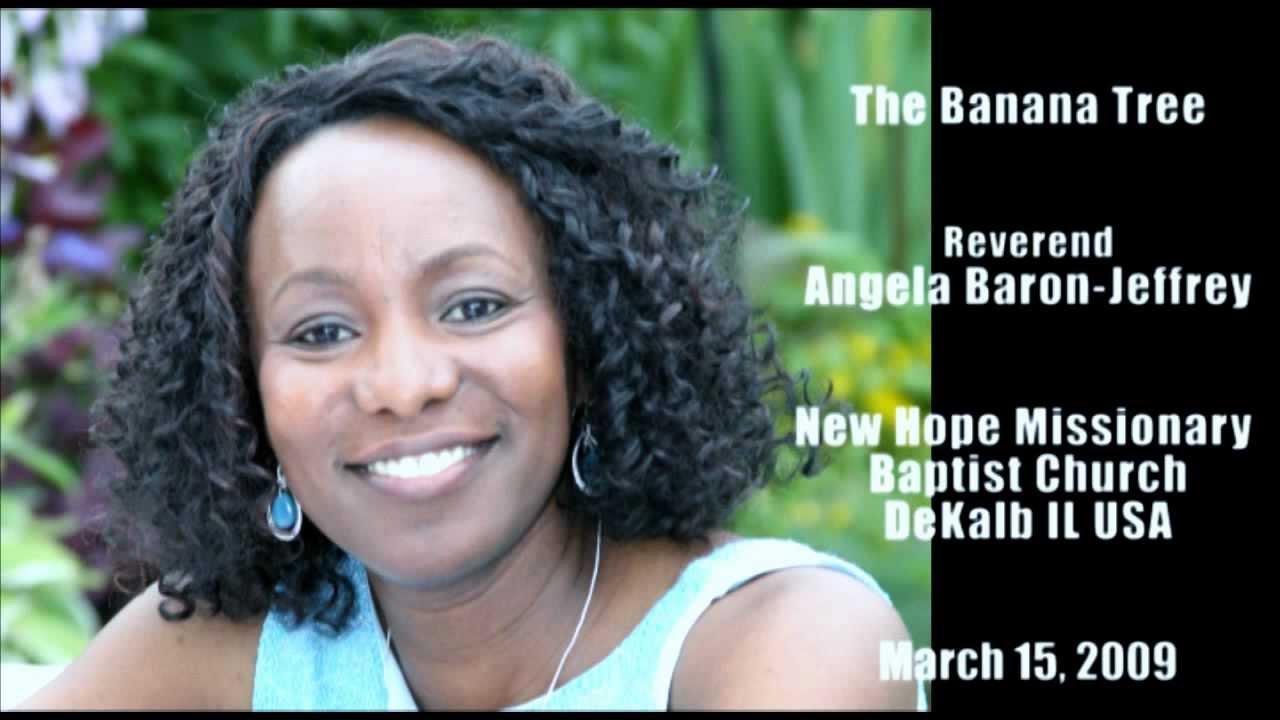 Angela Baron the banana treereverend angela baron-jeffrey - youtube