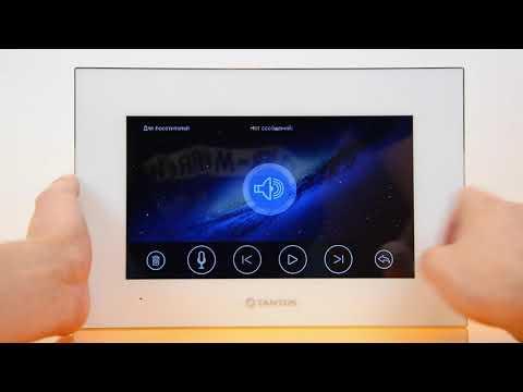 Видеодомофон TANTOS JOLLI Wi-Fi. Лучший домофон для дома и квартиры
