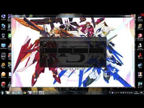 วิธีดาวโหลด+ติดตั้ง+เข้าเกม infinite stratos versus colors PC