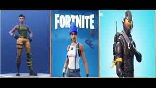 types of default skins in fortnite