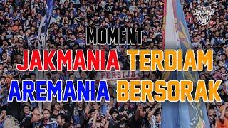 MOMENT !!! JAKMANIA TERDIAM, AREMANIA BERSORAK
