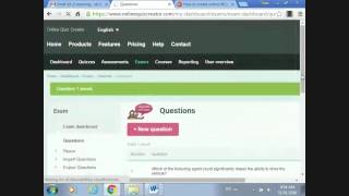 How to create online MCQs test by using online quiz creator