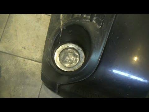 Как снять противотуманную фару, или как поменять лампу. Subaru Forester III.