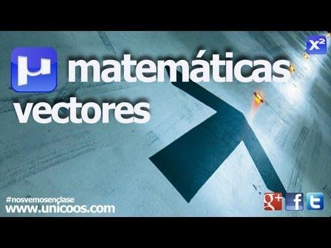 Producto ESCALAR y VECTORIAL de dos vectores SECUNDARIA (4ºESO) matematicas