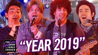 The Jonas Brothers: Year 2019...